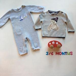 Janie & Jack 0-6 months bundle